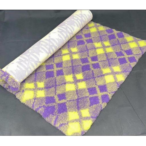Professional Quality Vet Bedding, Regal/Lime tartan
